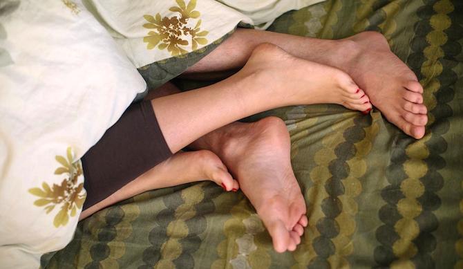 психосоматика пальцы ног