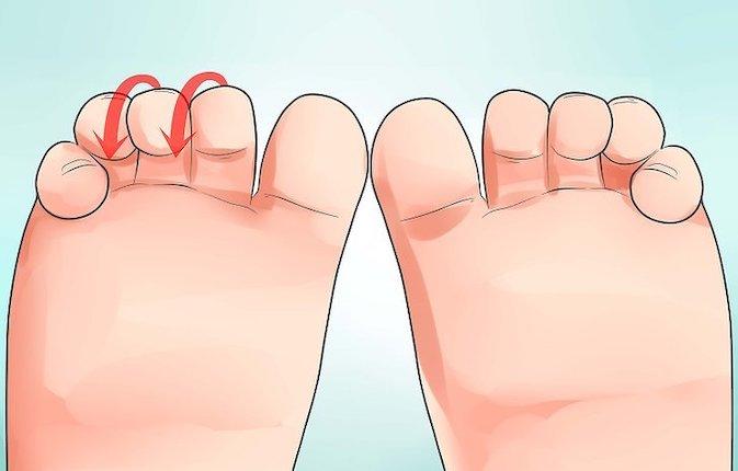 психосоматика поджимание пальцев ног